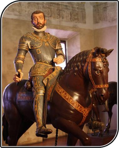 Statua equestre Vespasiano Gonzaga